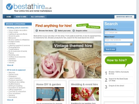 Best at hire online hire marketplace
