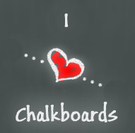 I Heart Chalkboards