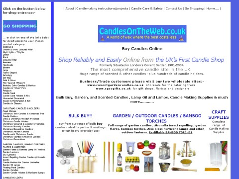 Candles On The Web Ltd