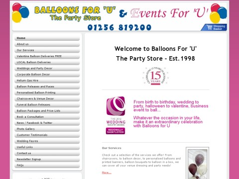 Balloons For U Ltd The Party Store