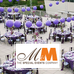 M and M The Special Events Company Decor