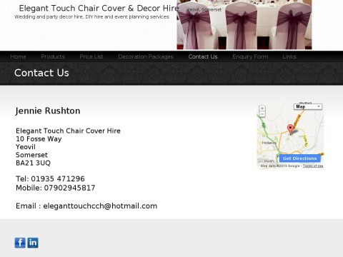 Elegant Touch Chair Cover and Decor Hire