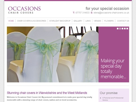 Occasions Chair Covers
