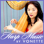 Harp Music By Vonette and Musical Networks