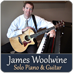James Woolwine solo piano guitar
