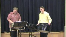 Mike and Colin Steel Drums