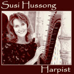 Susi Hussong Harpist