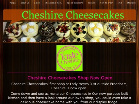 Cheshire Cheesecakes