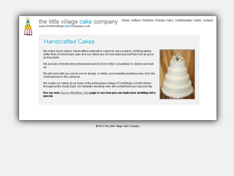 The Little Village Cake Company