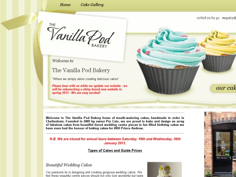 The Vanilla Pod Bakery