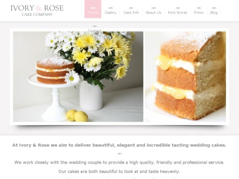 Ivory and Rose Cake Company