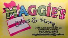 Maggies Cakes and More