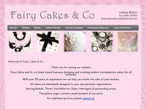 Fairy Cakes and Co