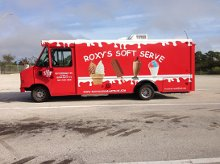 Roxys Ice Cream Catering Truck