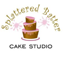 Splattered Batter Cake Studio