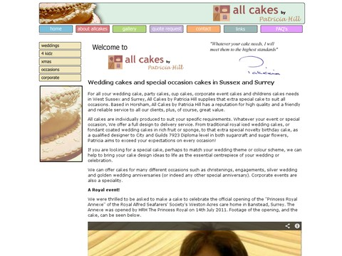 All Cakes by Patricia Hill