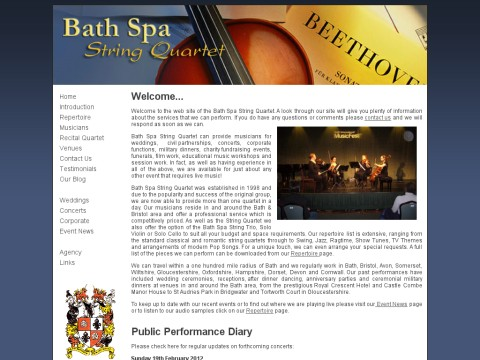 Bath Sps String Quartet