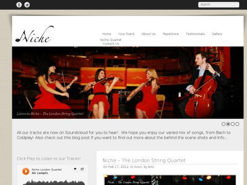 Niche The London String Quartet