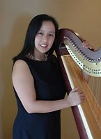 Graceful Music Harpist and Pianist