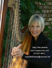 Harp Accents Mary Ellen Holmes