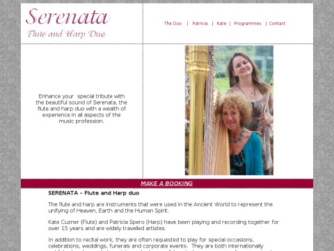 serenata flute and harp duo