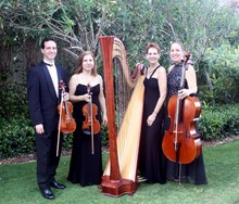 The Elegant Harp and String Ensemble Esther M Underhay Harpist to South Florida and 1000 Islands NY