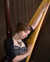The Fanciful Harpist