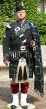 Bagpiper James Brian