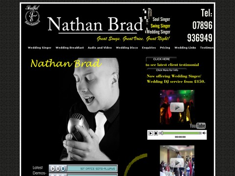 Nathan Brad Wedding Singer with Soul
