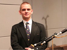 Norfolk Bagpiper Michael Supples