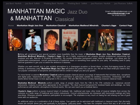Manhattan Magic Jazz Duo Manhattan Classical
