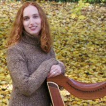 Katie Cashatt Celtic Harp and Fiddle