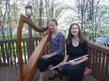 Angels Wings Harp and Flute Duo