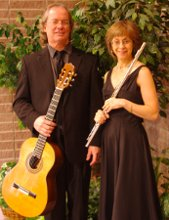 Jacqueline Rosen Flute Guitar Duo Flute Harp or Trio with Cello