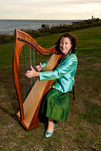 Mary King Harpist Celtic Harpist