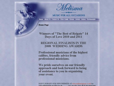 Melisma Music for all Occasions
