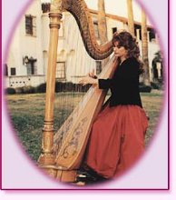 Nelda Etheredge Harpist