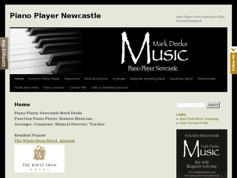Piano Player Newcastle