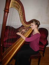 Professional WeddingSpecial Events Harpist Kaylene Fraser