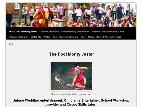 The Fool Monty Jester