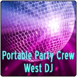 Portable Party Crew West DJ
