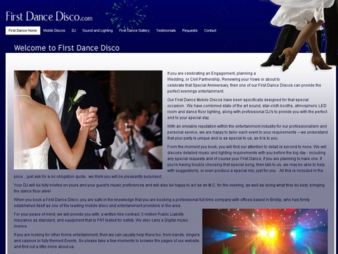 Bonehead Productions Ltd and First Dance Discos