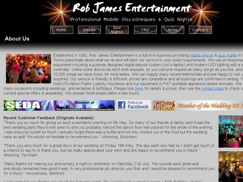 Rob James Entertainment