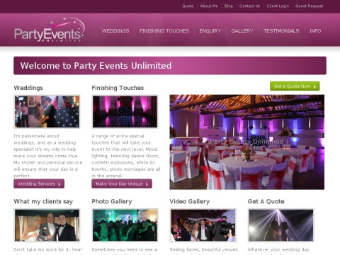 Party Events Unlimited