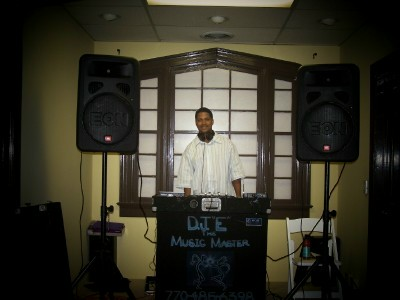 Atlanta DJ DJ E The Music Master