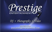 Prestige Entertainment