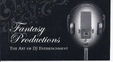 Fantasy Productions DJ Entertainment