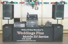 Mike and Sue Deckers Weddings Plus DJ Service