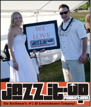 JAZZ IT UP PRODUCTIONS FULL TIME NORTHWEST DISC JOCKEY SERVICES