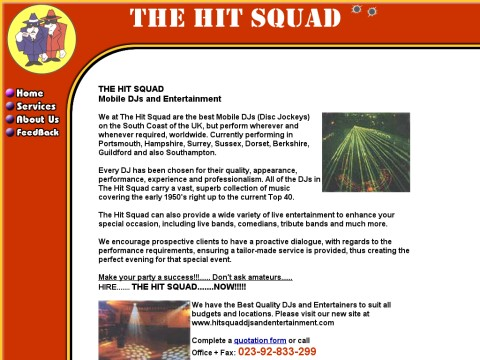 The Hit Squad DJ s and Entertainment